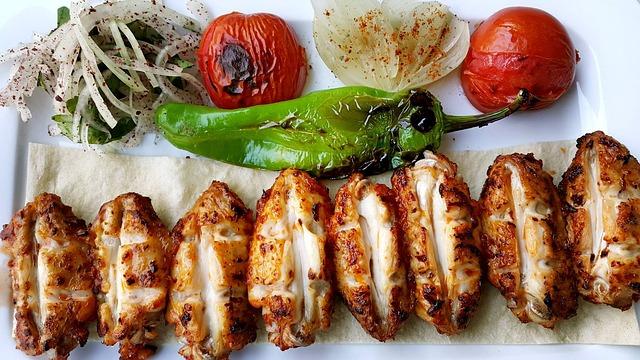 cuisine saine et grillades