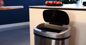 poubelle automatique 50l sensor style