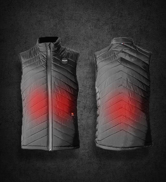 Les vestes chauffantes, une solution efficace