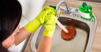 déboucher les canalisations d'une maison